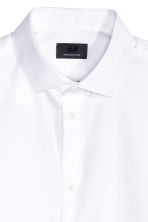 Premium cotton shirt - White - Men | H&M 3