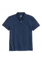 Polo shirt - Dark blue - Men | H&M CN 2