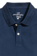 Polo shirt - Dark blue - Men | H&M CN 3