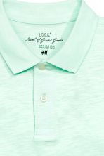 Polo shirt - Mint green - Men | H&M CN 3