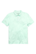 Polo shirt - Mint green - Men | H&M CN 2