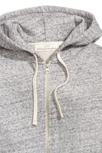 Hooded jacket - Grey marl - Men | H&M CN 3