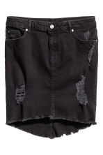 Denim skirt - Black - Ladies | H&M CN 2