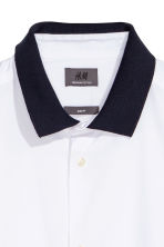 Shirt in premium cotton - White - Men | H&M CN 3