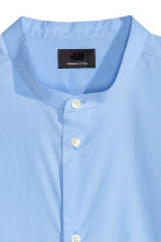 Shirt in premium cotton - Light blue - Men | H&M CN 3