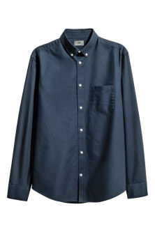 Oxfordskjorte i premium cotton