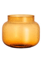 Vaso in vetro piccolo - Giallo senape - HOME | H&M IT 2
