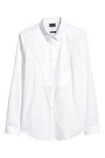 Dress shirt Slim fit - White - Men | H&M CN 2