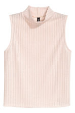 Turtleneck top - Powder pink - Ladies | H&M CN 2