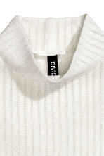 Turtleneck top - Natural white - Ladies | H&M CN 3