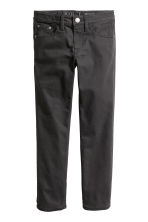 Twill trousers Skinny fit - Black - Kids | H&M CN 2