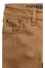 Twill trousers Skinny fit - Camel - Kids | H&M CN 5