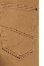 Twill trousers Skinny fit - Camel - Kids | H&M CN 4