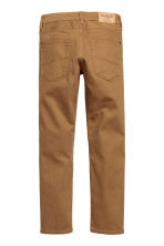 Twill trousers Skinny fit - Camel - Kids | H&M CN 3