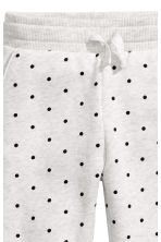 Joggers - Light grey/Spotted -  | H&M CA 3