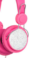 On-ear headphones - Cerise - Kids | H&M CN 3