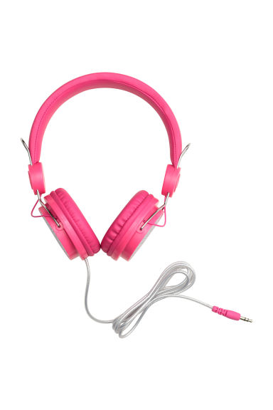 On-ear headphones - Cerise - Kids | H&M CN 1