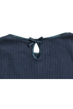 2-pack pointelle tops - Dark blue - Kids | H&M CN 3