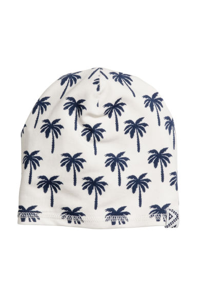 Jersey hat - White/Palms - Kids | H&M CN 1