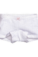 3-pack boxer briefs - Grey marl - Kids | H&M 3