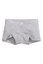 3-pack boxer briefs - Grey marl - Kids | H&M 2