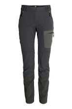 Outdoor trousers - 黑色 - Ladies | H&M CN 2