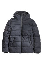 Padded jacket - Dark blue - Men | H&M CN 2