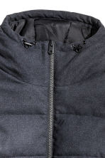 Padded jacket - Dark blue - Men | H&M CN 3