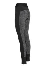 Outdoor tights - Black marl - Ladies | H&M CN 3