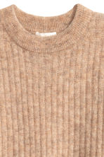 Oversized mohair-blend jumper - Beige marl - Ladies | H&M GB 3