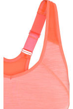 Reggiseno sport High support - Arancione neon mélange - DONNA | H&M IT 4