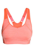 Reggiseno sport High support - Arancione neon mélange - DONNA | H&M IT 2