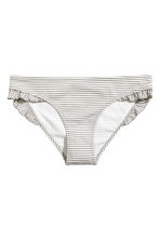 Bikini bottoms - Grey/Narrow striped - Ladies | H&M CN 2