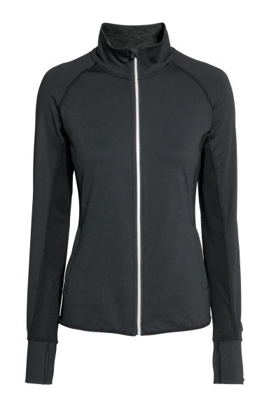 Running jacket - Black - Ladies | H&M GB 1