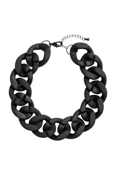 Short necklace - Black - Ladies | H&M CN 1