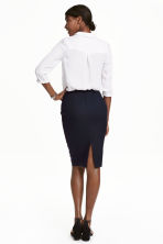 Pencil skirt - Dark blue - Ladies | H&M CN 4