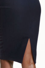 Pencil skirt - Dark blue - Ladies | H&M CN 3