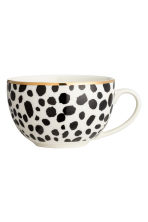 Leopard-print cup - White/Black - Home All | H&M CN 2