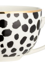 Leopard-print cup - White/Black - Home All | H&M CN 4