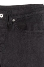 Skinny Low Jeans - Black denim -  | H&M 4