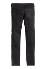Skinny Low Jeans - Black denim -  | H&M 3