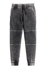Denim-look joggers - Black washed out - Kids | H&M CN 2