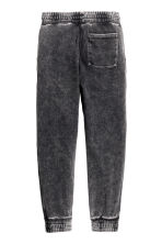 Denim-look joggers - Black washed out - Kids | H&M CN 3