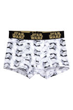 2-pack boxer shorts - Black/Star Wars - Kids | H&M CN 2