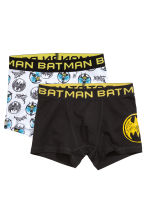 2-pack boxer shorts - Black/Batman - Kids | H&M CN 1