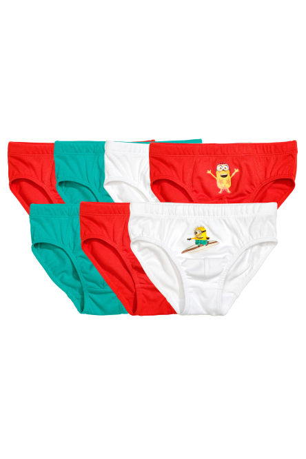 7-pack boy's briefs