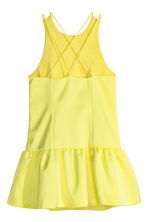 Satin dress - Yellow - Ladies | H&M CN 3