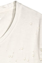 T-shirt trashed - White - Men | H&M CN 2