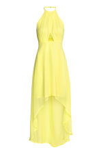 Chiffon dress - Yellow - Ladies | H&M CN 2