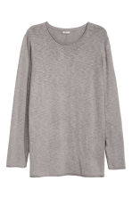 Fine-knit jumper - Grey - Men | H&M CN 2